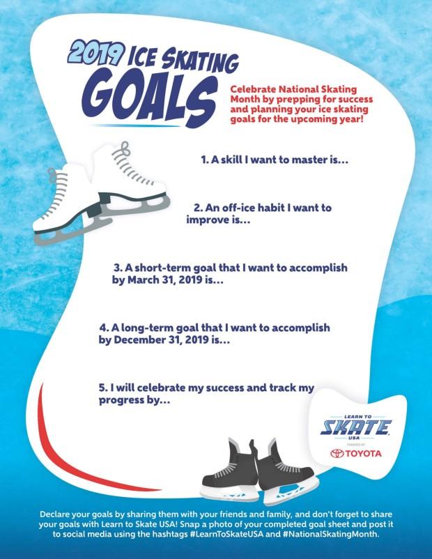 skating goals